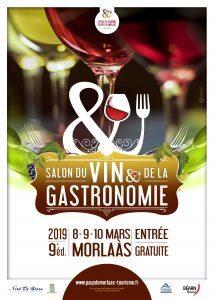 Le salon du vin et de la gastronomie de Morlaas